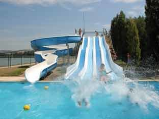 Outdoor activities centres and water parks